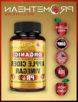 Organic Apple Cider Vinegar Capsules ACV PRO Diet Pills Deto