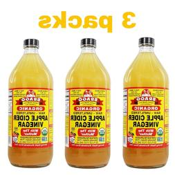 organic apple cider vinegar with mother 32