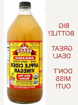 Organic Raw Apple Cider Vinegar 32 fl oz Bragg Organic Apple