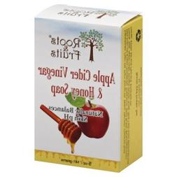 2 Packs of Roots And Fruits Bar Soap - Apple Cider Vinegar A