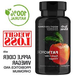 High Potency ACV with Probiotics, Chromium, Cayenne Pepper a