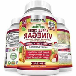 Premium Apple Cider Vinegar Pills Max 1740mg with Mother - 1