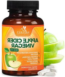Pure Apple Cider Vinegar Capsules for Weight Loss 1300mg - 1