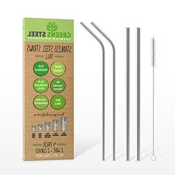 stainless straw set
