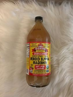 BRAGG USDA GLUTEN FREE ORGANIC RAW APPLE CIDER VINEGAR WITH