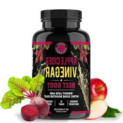 Angry Supplements Apple Cider Vinegar + Beet Root Weight Los