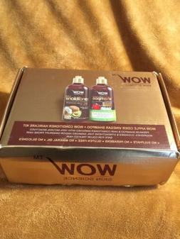 WOW Apple Cider Vinegar Shampoo & Hair Conditioner Set - Inc